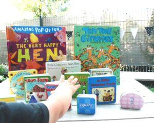 To niektóre pozycje z naszego dziecięcego księgozbioru
