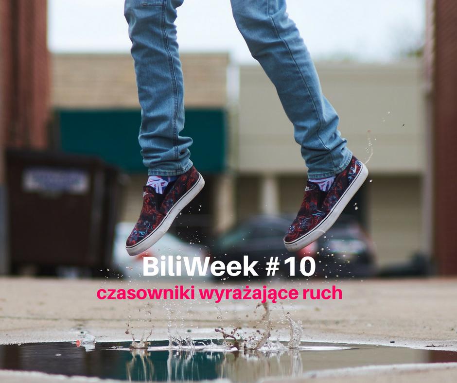 Move your body – angielskie aktywności ruchowe w sam raz na niepogodę [ Biliweek #10]