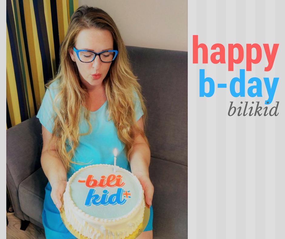 1. urodziny bloga Bilikid