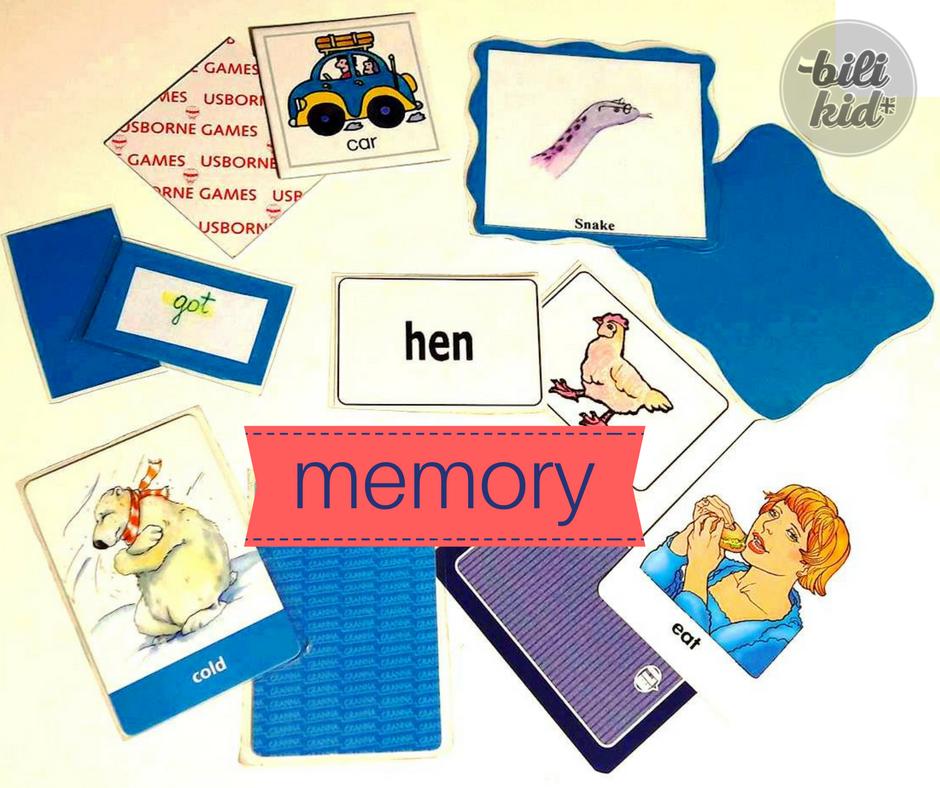 Znana gra MEMORY na różne, nieznane sposoby