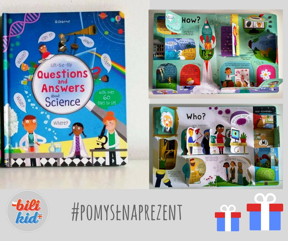 Gdy dziecko zadaje trudne pytania, daj mu tę książkę #pomysłnaprezent
