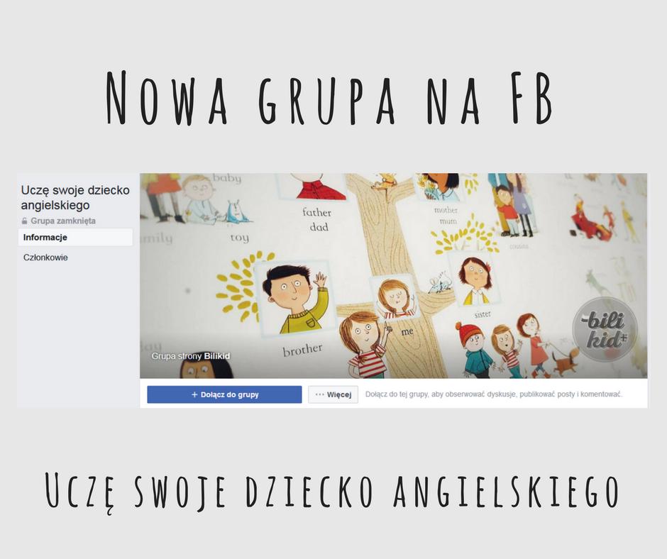Nowa grupa na Facebooku