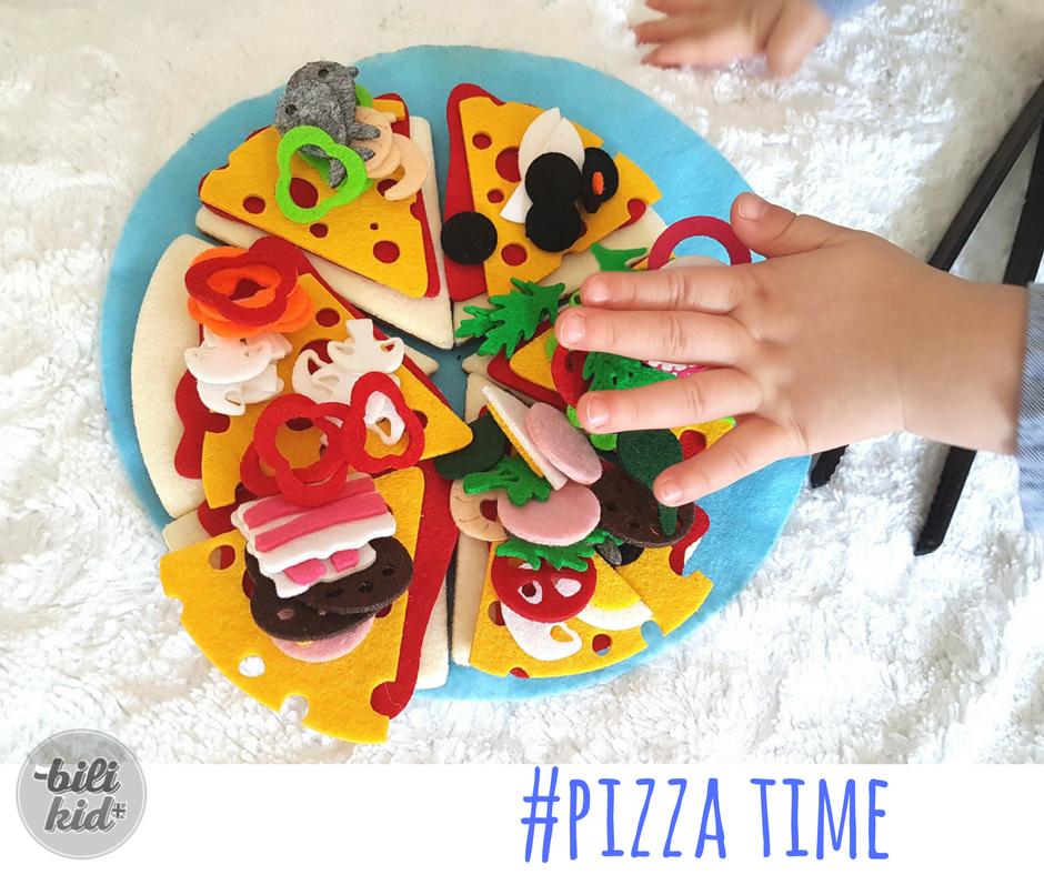 Jak zrobić z dzieckiem pizzę, nie nabrudzić i uczyć się angielskich słówek?