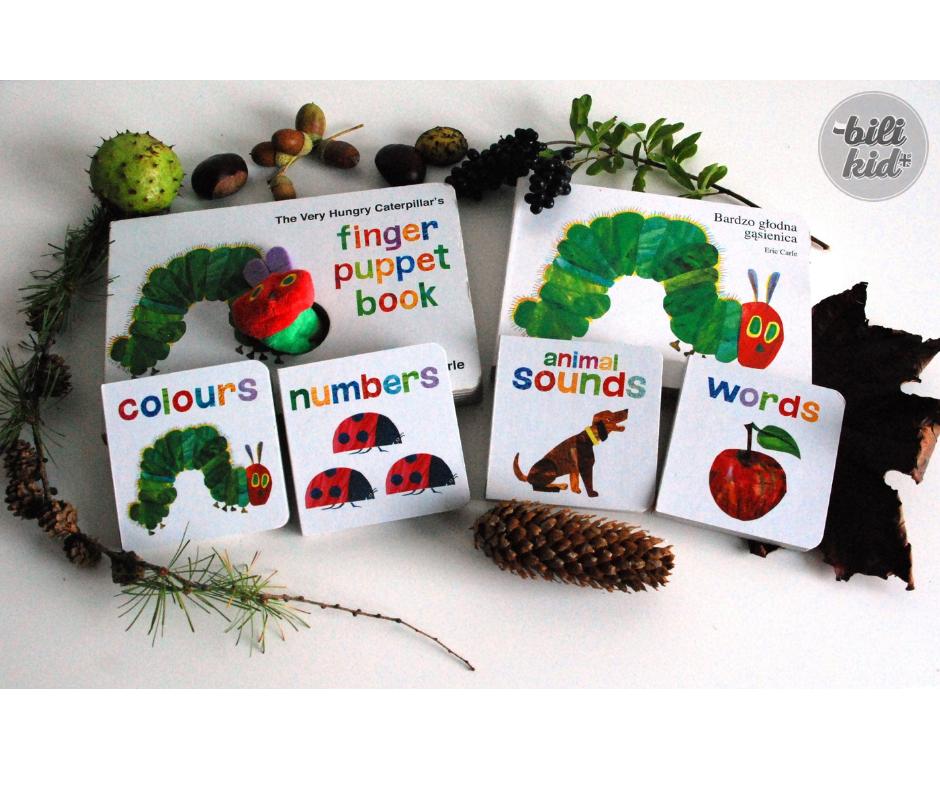 """""""The Very Hungry Caterpillar"""" – kultowa anglojęzyczna książka dla dzieci"""
