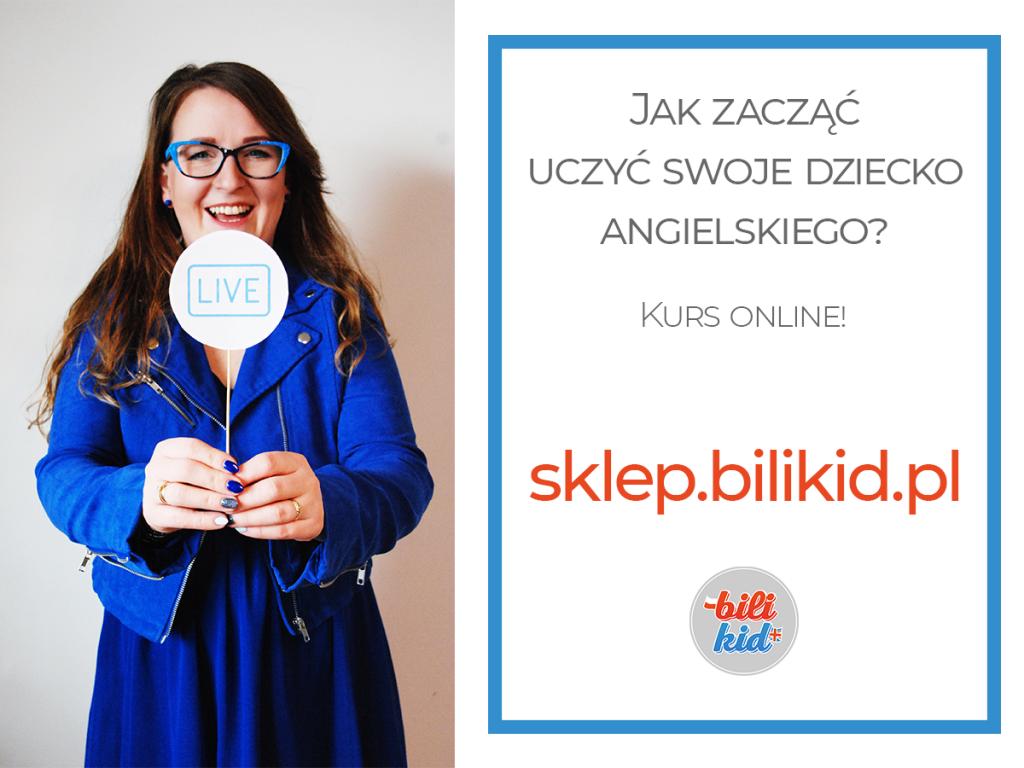 Jak zacząć uczyć swoje dziecko angielskiego? Pierwszy taki kurs online w Polsce!
