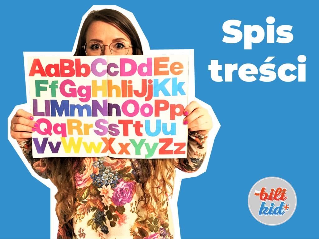 Alfabetyczny spis treści wpisów z bloga Bilikid.pl
