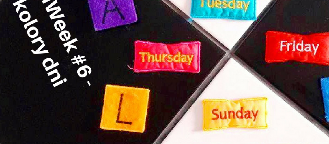 BiliWeek #6 - kolory dni