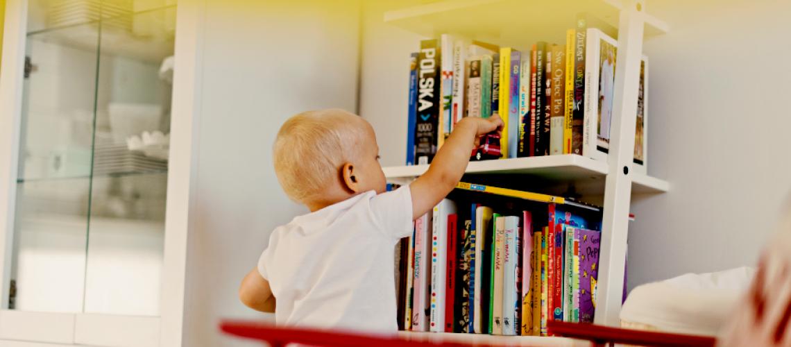 Dziecko wybiera książki
